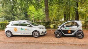 Ergo goes e-motion – unsere Praxisflotte